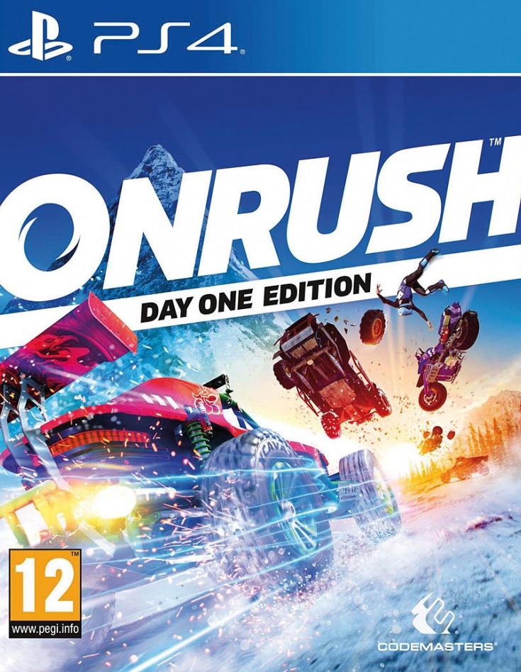 PS4 Onrush Day One Edition Nové