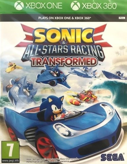 XONE/X360 Sonic All-Star Racing Transformed Nové