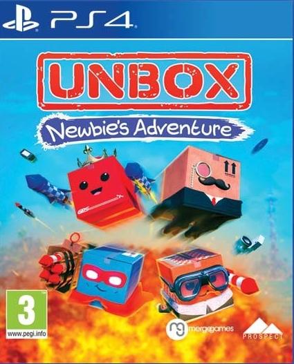 PS4 Unbox Newbies Adventure Nové