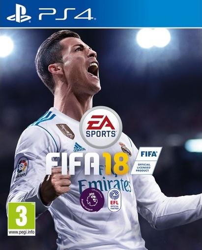 PS4 Fifa 18 CZ Nové