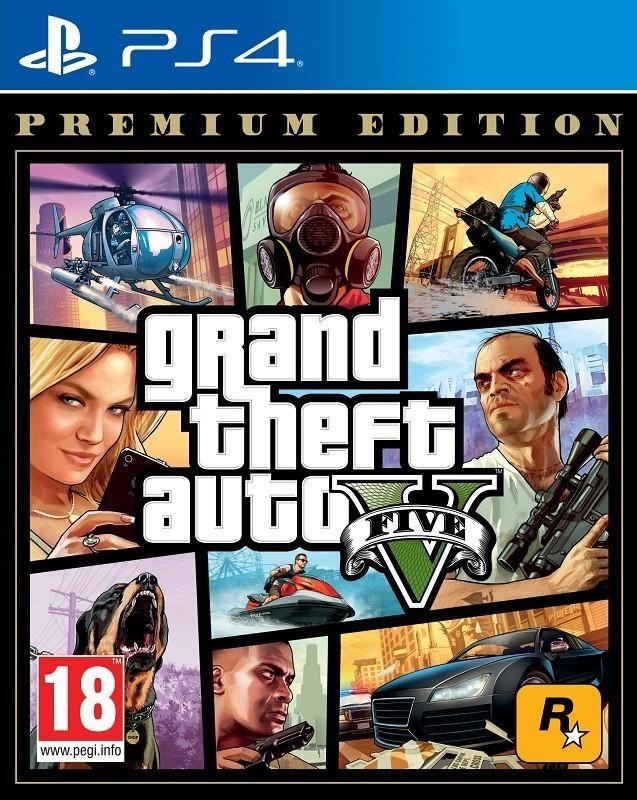 PS4 Grand Theft Auto V Premium Edition (GTA 5) Nové