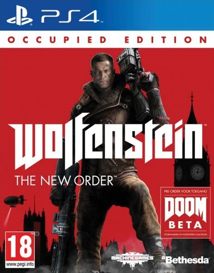 PS4 Wolfenstein The New Order Occupied Edition Nové