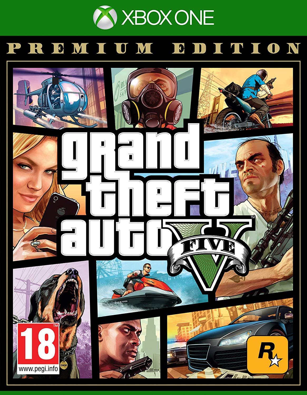XONE Grand Theft Auto V Premium Online Edition (GTA 5) Nové