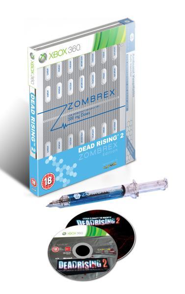 X360 Dead Rising 2 Zombrex Edition Steelbook