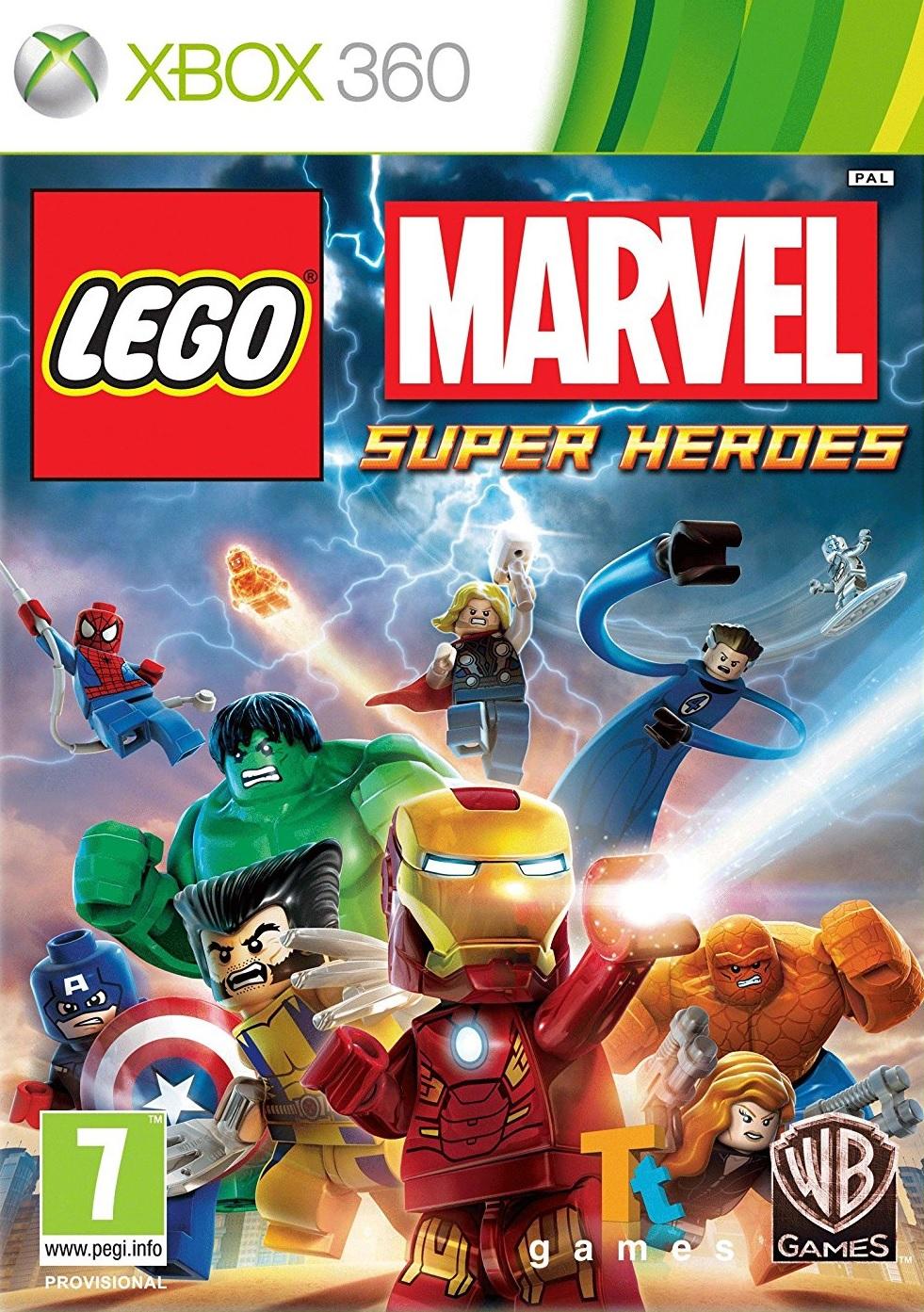 X360 Lego Marvel Super Heroes Nové