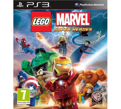 PS3 Lego Marvel Super Heroes Nové