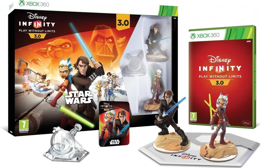 X360 Disney Infinity 3.0 Star Wars Starter Pack Nové