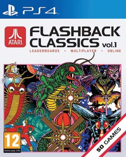 PS4 Atari Flashback Classics vol. 1 Nové