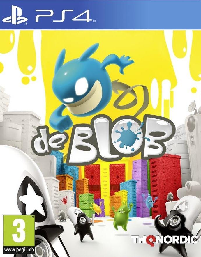 PS4 De Blob Nové