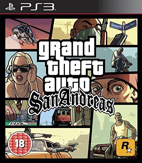 PS3 Grand Theft Auto San Andreas (GTA) Nové