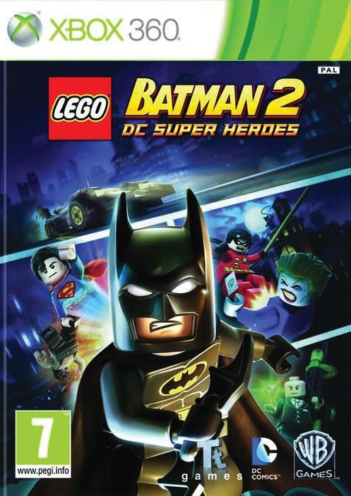 X360 Lego Batman 2 DC Super Heroes Nové