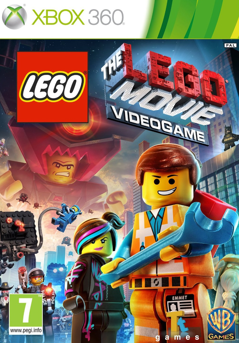 X360 Lego Movie Videogame Nové