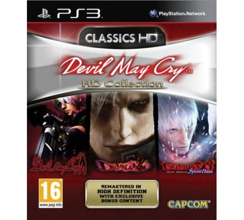 PS3 Devil May Cry HD Collection Nové