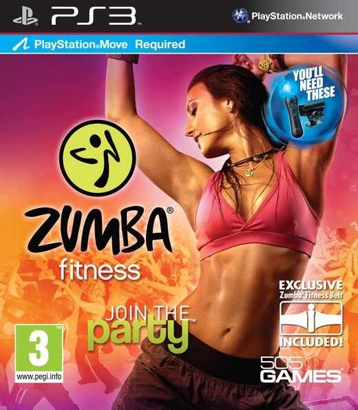 PS3 Zumba Fitness Nové