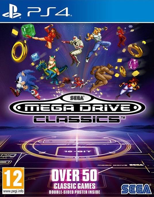 PS4 Sega Mega Drive Classics Nové