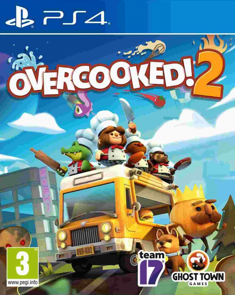 PS4 Overcooked 2 Nové
