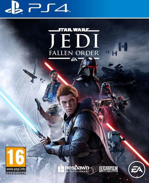 PS4 Star Wars Jedi Fallen Order Nové