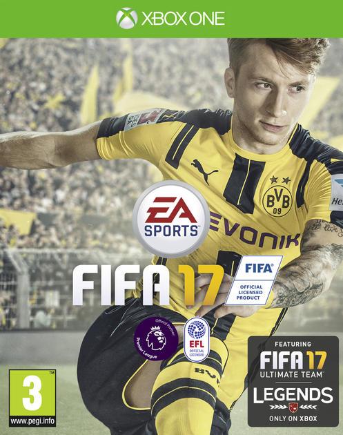 XONE FIFA 17 CZ