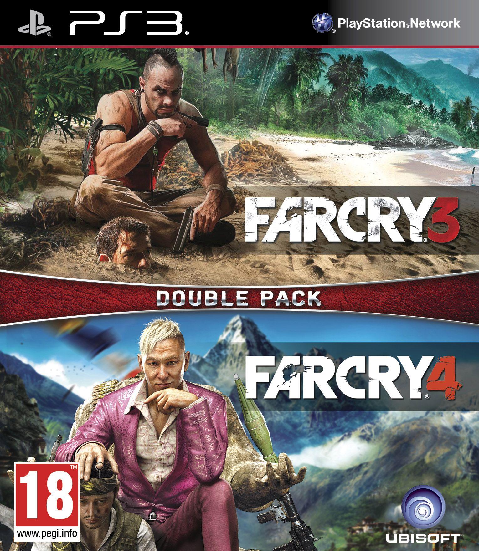 PS3 Far Cry 3 - Far Cry 4 CZ Nové
