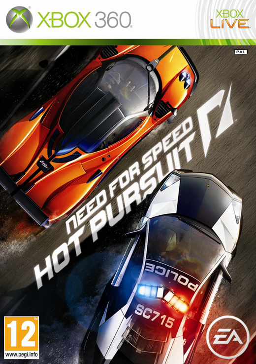 X360 Need for Speed Hot Pursuit Nové