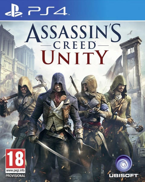 PS4 Assassins Creed Unity CZ Nové