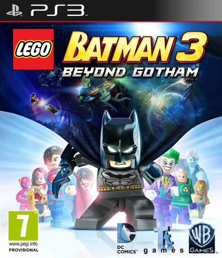 PS3 Lego Batman 3 Beyond Gotham