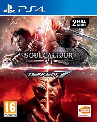 PS4 SoulCalibur VI - Tekken 7 Nové
