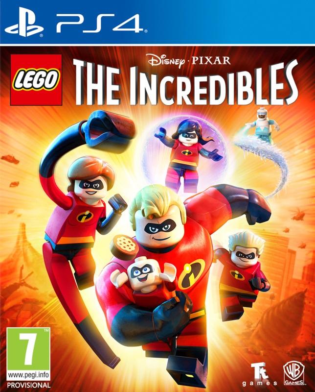 PS4 Lego The Incredibles Nové