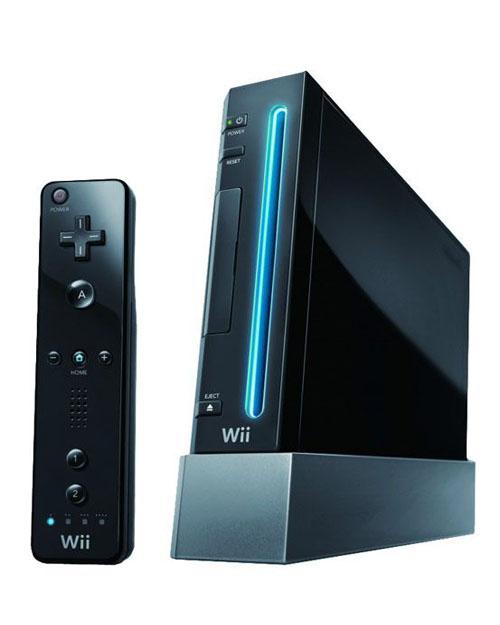 Wii Konzole Nintendo Black