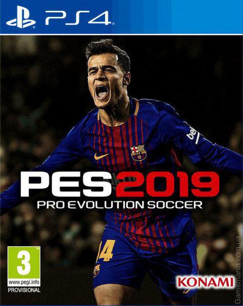 PS4 Pro Evolution Soccer 2019 Nové
