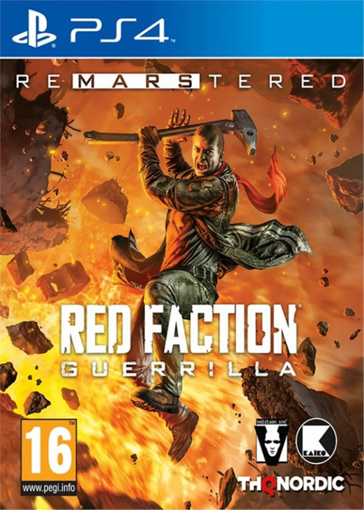 PS4 Red Faction Guerrilla Remarstered CZ Nové