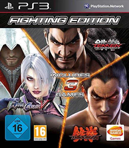 PS3 Fighting Edition Tekken 6 - Tekken Tag Tournament 2 - SoulCalibur 5 Nové