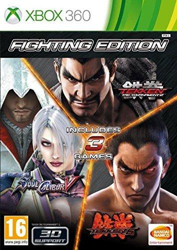 X360 Fighting Edition Tekken 6 - Tekken Tag Tournament 2 - SoulCalibur V Nové