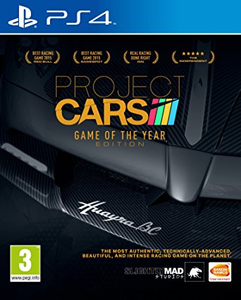 PS4 Project CARS Game of the Year Edition Nové