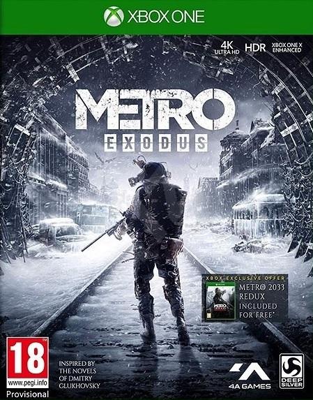XONE Metro Exodus D1 Edition + Metro Redux CZ Nové