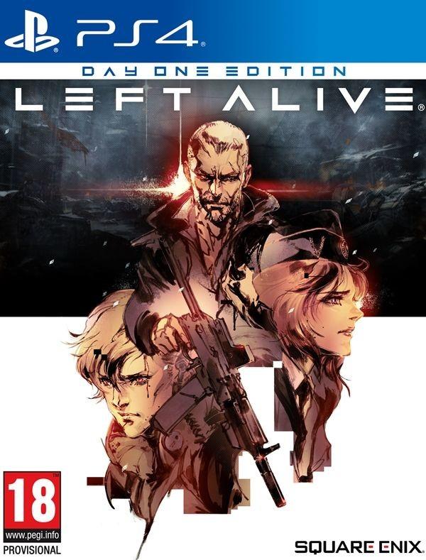 PS4 Left Alive Day One Edition Nové