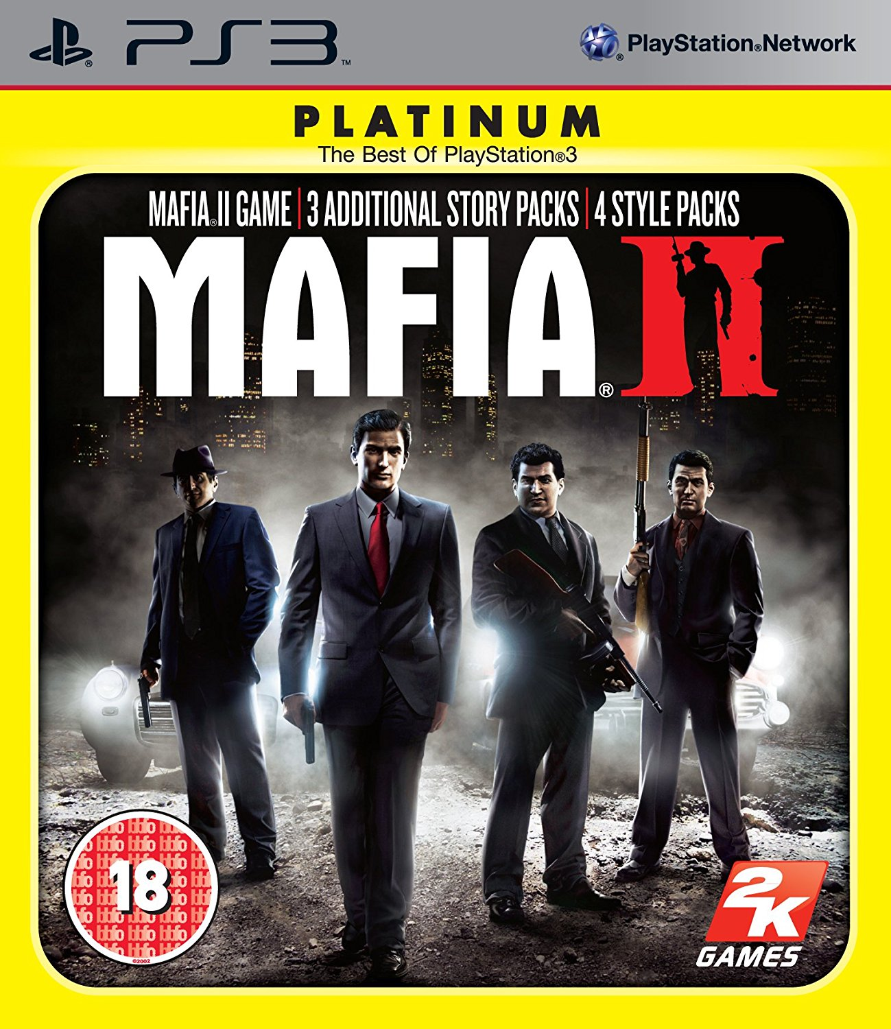 PS3 Mafia 2 Special Extended Edition CZ