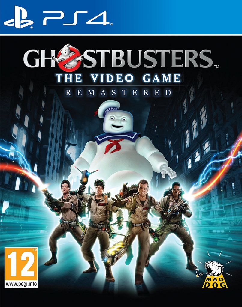 PS4 Ghostbusters The Video Game Remastered Nové