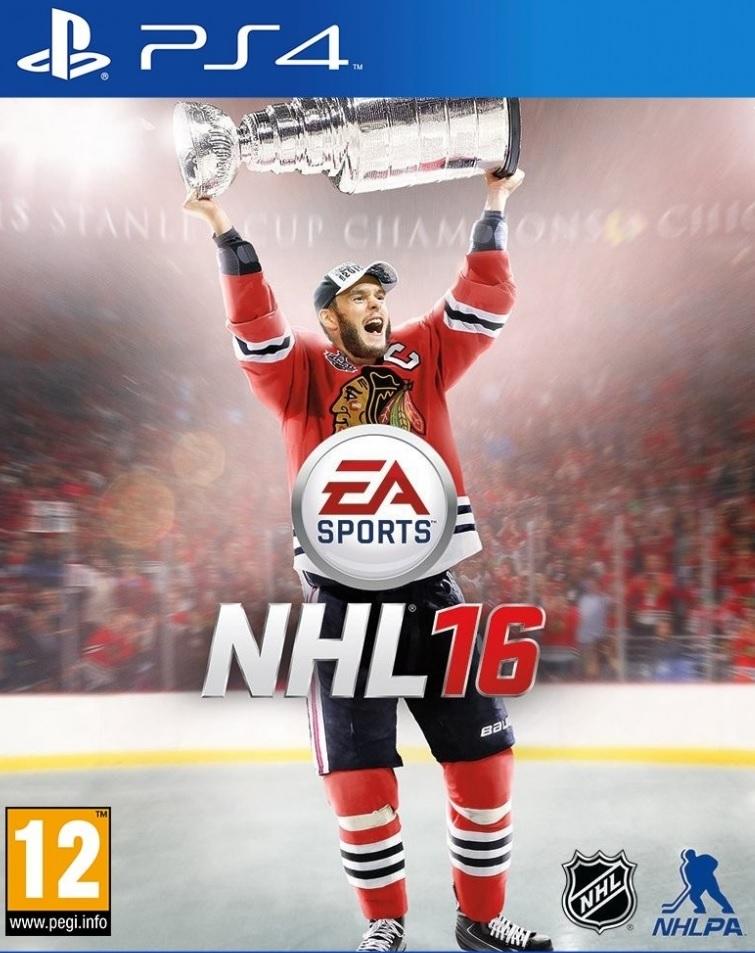 PS4 NHL 16 CZ Nové