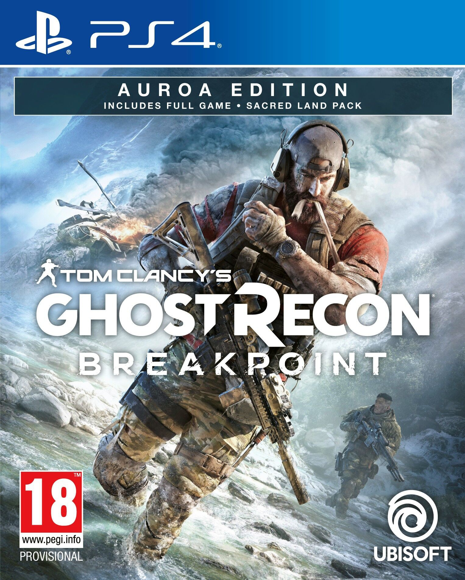 PS4 Tom Clancys Ghost Recon Breakpoint Aurora Edition Nové