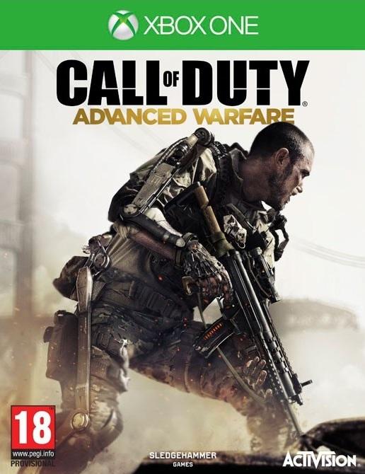 XONE Call of Duty Advanced Warfare Nové