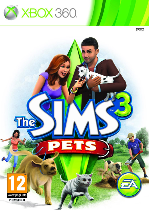 X360 The Sims 3 Pets