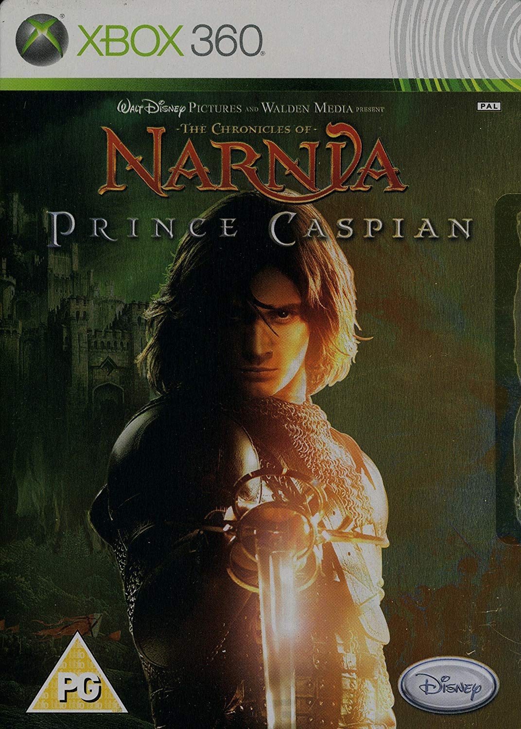 X360 The Chronicles of Narnia Prince Caspian Steelbook