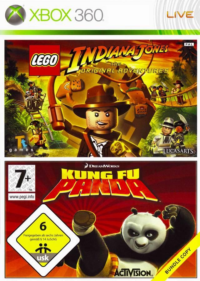 X360 Lego Indiana Jones/Kung Fu Panda