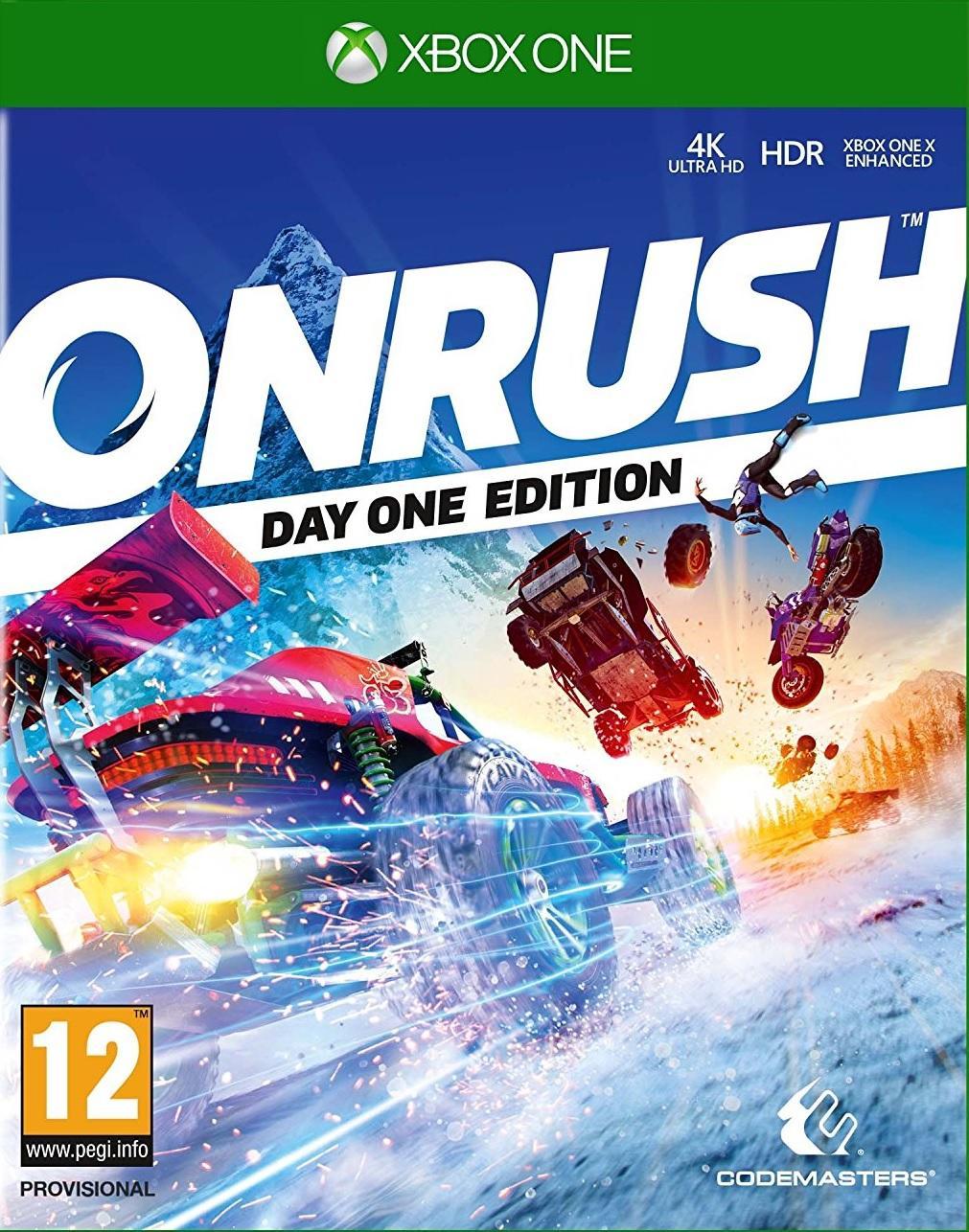 XONE Onrush Day One Edition Nové