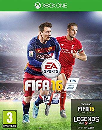 XONE FIFA 16 CZ Nové