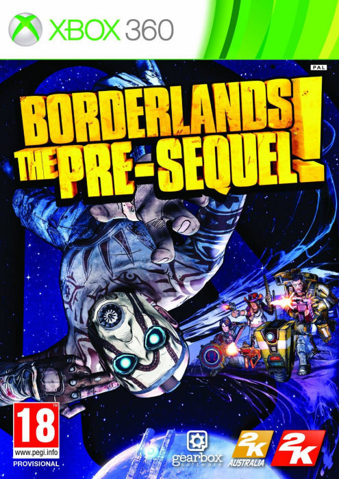 X360 Borderlands The Pre-Sequel! Nové