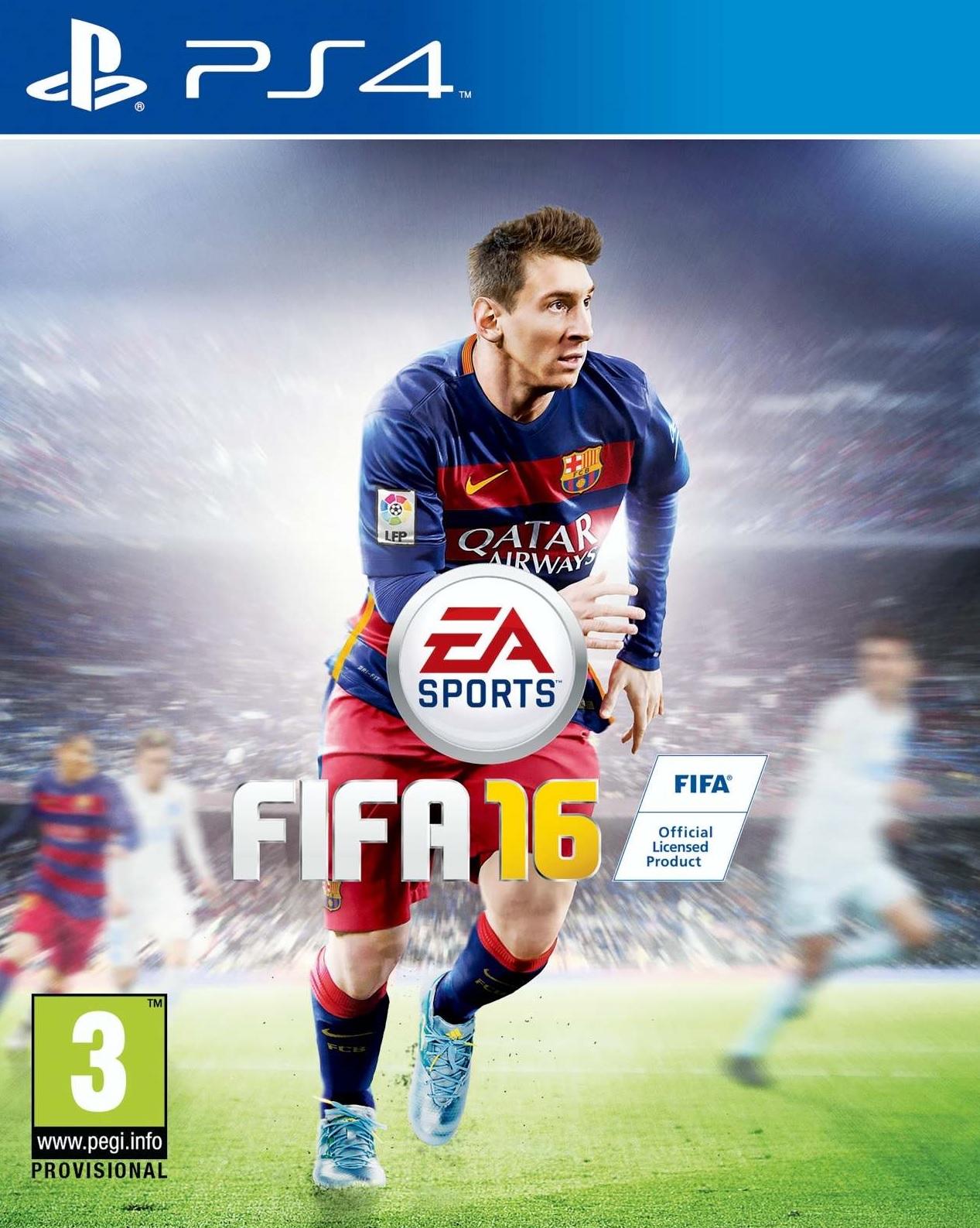 PS4 FIFA 16 CZ - jen hra