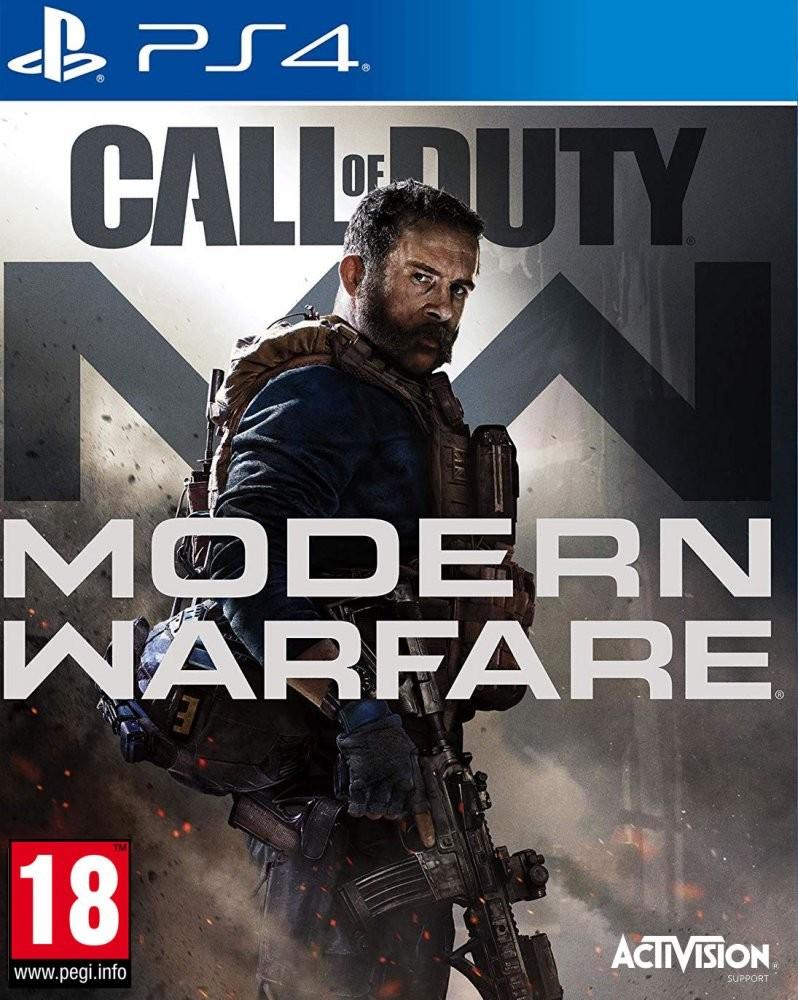 PS4 Call of Duty Modern Warfare Nové