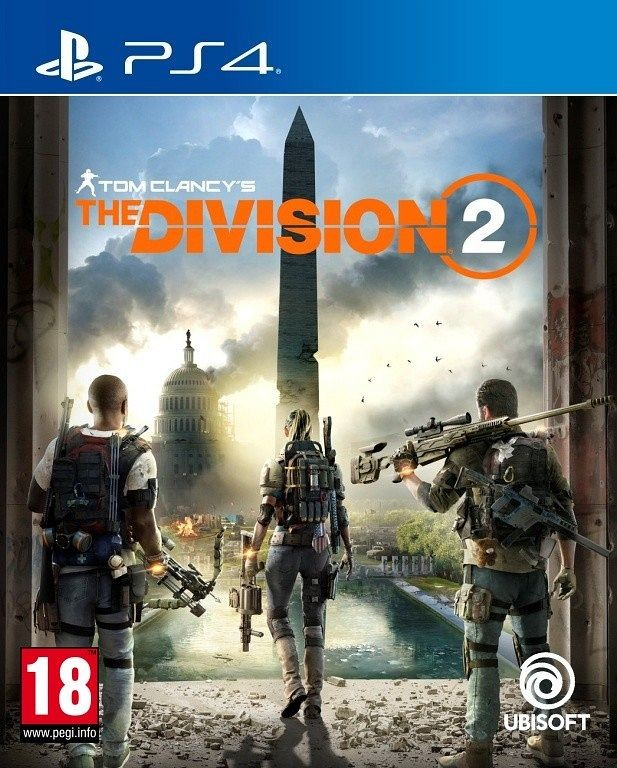 PS4 Tom Clancys The Division 2 CZ Nové